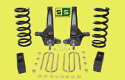 01-10 Ford Ranger 2wd 6/4 Lift Kit 6 Cyl Spindles / Coil Springs / Lift Blocks