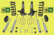 01-10 Ford Ranger 2wd 7/4 Lift Kit 6 Cyl Spindles/coil Springs/blocks/4 Shock