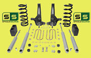 01-10 Ford Ranger 2wd 7/5 Lift Kit 6 Cyl Spindles/coil Springs/blocks/4 Shock