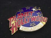 Collectible Planet Hollywood Orlando Florida Red White Blue And Gold Pin