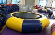 4m13and039 Diameter Inflatable Water Trampoline Bounce Swim Platform Lake Toy A