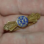 Vintage Afa 1896 Freemasons Shovel Trowel Sun Royal Arch Mason Pin Ultra Rare