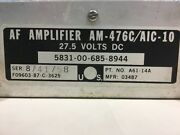 Af Amplifier Audio Frequency Andrea Radio Am-476c/aic-10 A61-14a 581006858944