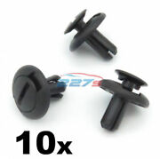 10x Engine Cover Clips And Radiator Grille Trim Clips- Fits Some Subaru 90914-0063