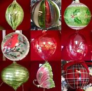 Christmas Decorations Lot Ornaments Florals Picks And Sprays