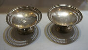 Shreve Crump And Low Co. Boston Sterling Silver Bowl Dish Set Stamped Plate