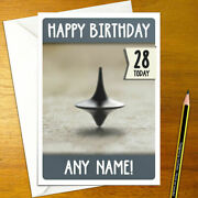 Inception Personalised Birthday Card - A5 Film Movie Dicaprio Watanabe Totem