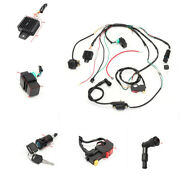 Wiring Harness Solenoid Coil Rectifier Cdi Switch 50 70 90 110 125cc Quad Bike