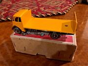 Vintage Dinky Supertoys   Mib   Guy Flat Bed W/ Tail Board   Rare Color   513
