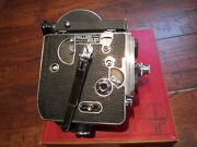 Stunning Condition 1949 Collector's Bolex 16mm Movie Camera, Hand Stamped Serial