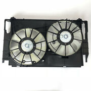 To3115177 Dual Radiator Condenser Cooling Fan Assembly For Toyota Rav4 2.5 13-17