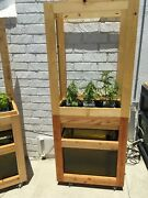 Aquaponics Garden Edible Growing System Sustainable Organic Flowering Hydroponic