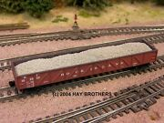 3-pack Of Hay Brothers Gravel / Ballast Loads - Fits Micro-trains 50and039 Gondolas