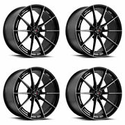 19 Savini Sv-f1 Tinted Forged Concave Wheels Rims Fits Cadillac Cts V Coupe