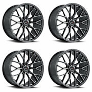 20 Savini Sv-f2 Forged Graphite Concave Wheels Rims Fits Lexus Is250 Is350