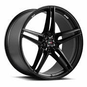 20 Savini Sv-f3 Forged Black Concave Wheels Rims Fits Ford Mustang Gt