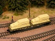Hay Brothers Tarp Covered Halftracks - 2/pack Tan A Load For Flatcars