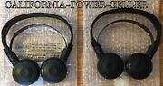 2x Headphones For Acura Mdx And Honda Odyssey Elite See Chart For Compatible Year