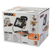 Wx026l.9 Worx 20v Led Work Light -power Share No Batterys Or Charger