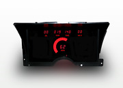 1992-1994 Chevy Truck Digital Dash Panel Red Led Gauges For Ls Engine Usa Made