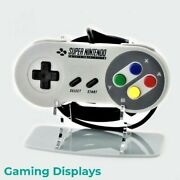 Super Nintendo Entertainment System Snes Controller Display Stand - Acrylic
