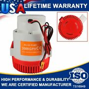 Super 3000 Gph 12v Electric Marine Yacht Boat Water Pump Submersible Bilge Pumps