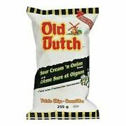 Old Dutch Sour Cream 'n Onion Potato Chips 255g/9 Oz., {imported From Canada}