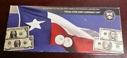2003-2004 Us Treasury Bep Texas Coin And Currency Set In Original Packaging