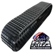 One Rubber Track Fits Cat 267 And 267b 18x4x56 Straight Bar Tread Free Shipping