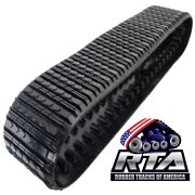 One Rubber Track Fits Cat 277 And 277b 18x4x56 Straight Bar Tread Free Shipping