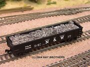Hay Brothers Baled Scrap Aluminum Load - Fits Atlas And Bachmann 42 Foot Gons