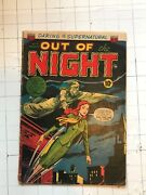 Out Of The Night 7 Golden Age Horror 1953 Pre-code Comic Supernatural Rare Acg