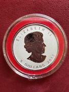 2013 1 Oz Silver Canadian Maple Leaf Snake Privy Reverse Proof In Airtite