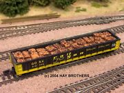Hay Brothers Baled Scrap Metal Load - Fits Athearn / Mdc 100t 52ft Gondolas
