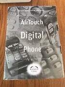 Audiovox Airtouch Digital Cdm 4000-a Vintage Cellular Phone And Charger