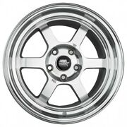 Mst Wheels Time Attack Rims 16x8 +20 Silver 5x4.5 94 98 99 04 Ford Mustang V6 Gt