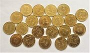 Wholesale - 100 Kenya 10 Cents Coins Of 1994 With Presidential Portrait Km 18a