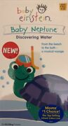 Baby Einstein-baby Neptune-discovering Water Vhs Rare Vintage-new Sealed-ship24h