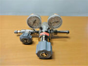 Matheson Dual Stage High Purity Regulator Stainless Steel M3810-590-s
