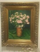 George Mosson 1851-1933 German Successionist Art Oil Painting Expressionist