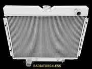 Champion 4 Row Aluminum Radiator 67 68 69 70 Mustang Ford Cars 24 Wide Core