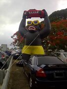 Car Lot Giant 20and039 Inflatable Gorilla Kit Car Dealer Inflatable Free Delivery