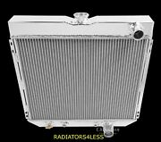 Champion 4 Row Aluminum Radiator 1967-1970 Mustang Many Ford Cars 20 Wide Core