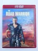 Authentic Mad Max 2 The Road Warrior Actor Vernon Wells Signed Autograph Dvd