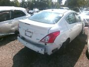 Rear Door Nissan Versa Right 12 13 14 16 17 White With Dent