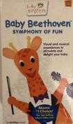 Baby Einstein Baby Beethoven Symphony Of Funvhs 2002tested-rare-ships N 24 Hr