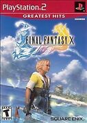 Ships Today Final Fantasy X 10 Playstation 2 Ps2 Brand New Sealed Usa Ffx