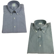 Brooks Brothers Menand039s Shirts Oxford 100 Cotton Made In Usa 88758