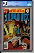 Jonah Hex 1 Cgc 9.6 Dc 1977 White Pages New Case Nm+ Copy H7 151 Cm