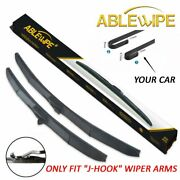 Ablewipe Fit For Ford F150 F250 F350 F450 F550 Windshield Wiper Blades 22and039and039 22and039and039